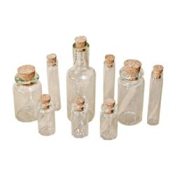 TH92899 Tim Holtz® Idea-ology™ Findings - Corked Vials